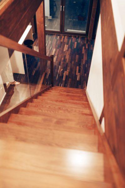 Modernes Fachwerk Haus Landhaus Braune Konstruktion Holzstaenderhaus Holzskelett 4