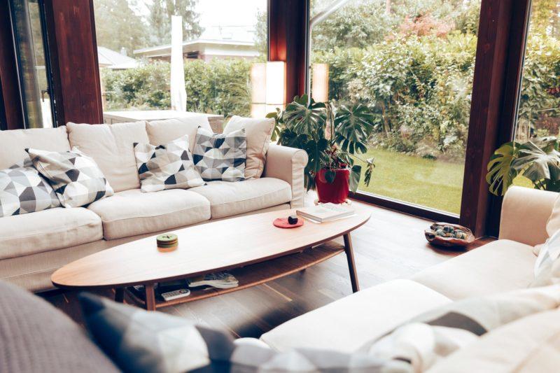 Modernes Fachwerk Haus Landhaus Braune Konstruktion Holzstaenderhaus Holzskelett 45