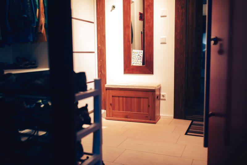 Modernes Fachwerk Haus Landhaus Braune Konstruktion Holzstaenderhaus Holzskelett 5