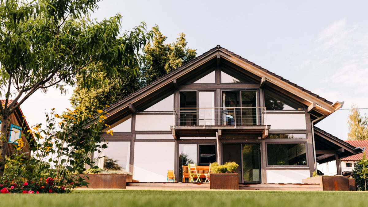 Modernes Fachwerk Landhaus Holzhaus Holzskelett Architektur Concentus 2