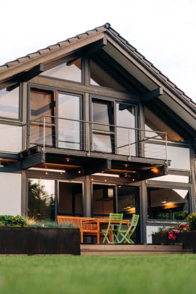 Modernes Fachwerk Landhaus Holzhaus Holzskelett Architektur Concentus 20