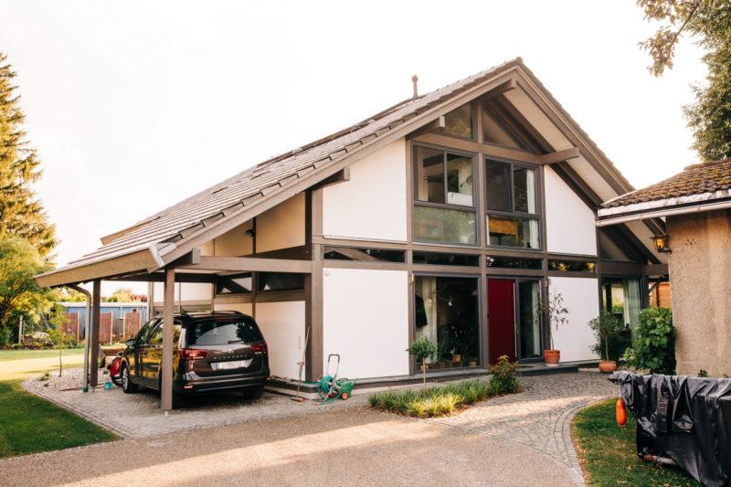 Modernes Fachwerk Landhaus Holzhaus Holzskelett Architektur Concentus 5