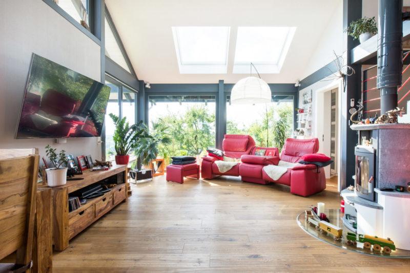 Modernes Fachwerkhaus Concentus Holzskelett