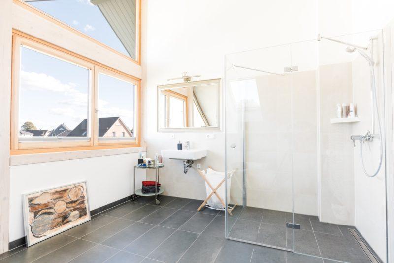 Modernes Fachwerkhaus Hell Fachwerk Holz Glas Concentus 1