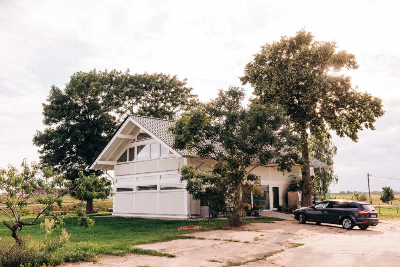 Modernes Fachwerkhaus Holzskelett Haus Holzhaus Concentus 2