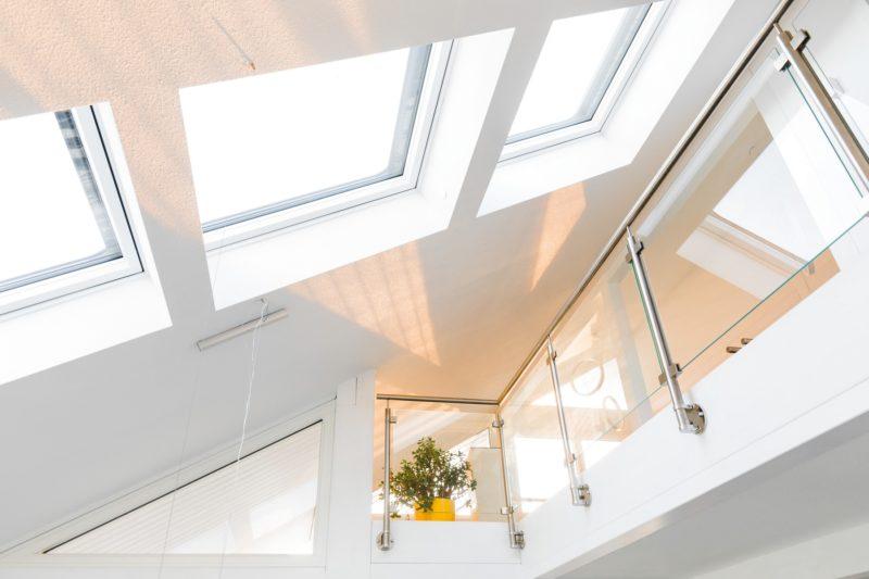 Modernes Fachwerkhaus Holzskelettbau Weiss Hausbau Holzhaus Landhaus 11
