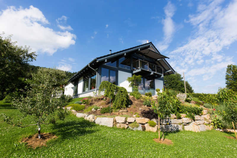 Modernes Fachwerkhaus Holzskeletthaus Concentus