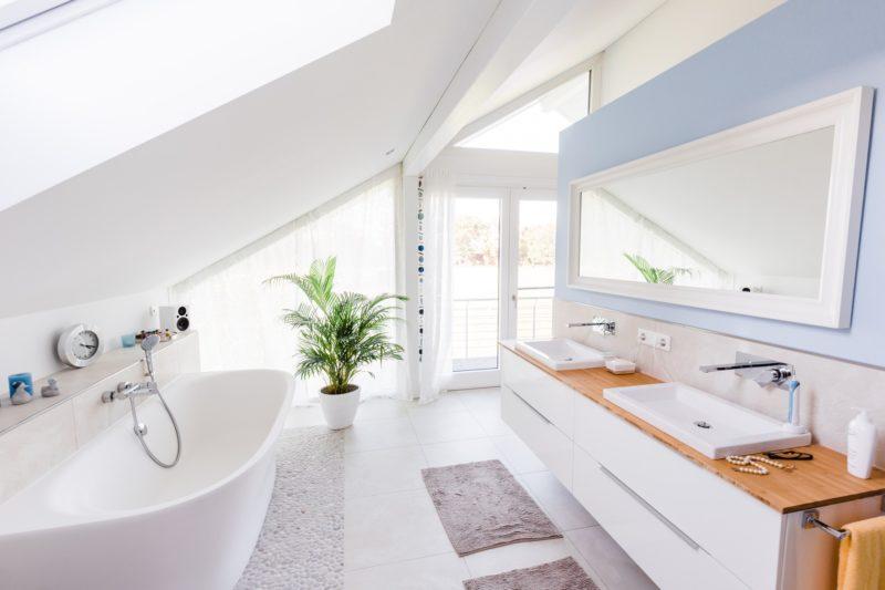 Modernes Fachwerkhaus Landhaus Fachwerk Holz Glas Weiss 11