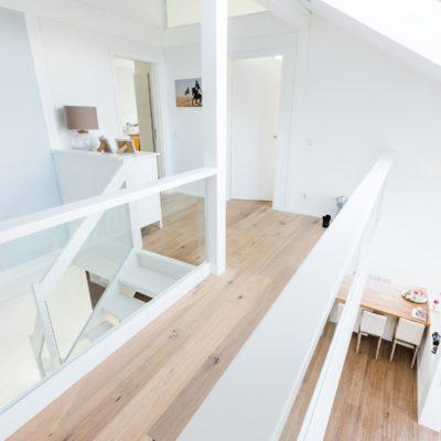 Modernes Fachwerkhaus Landhaus Fachwerk Holz Glas Weiss 12