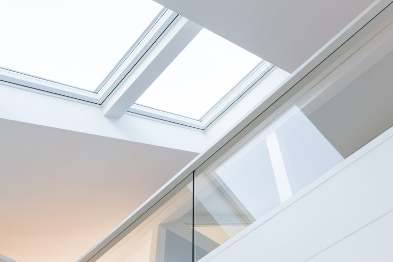 Modernes Fachwerkhaus Landhaus Fachwerk Holz Glas Weiss 19