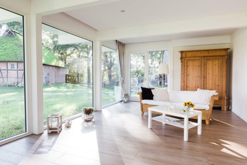 Modernes Fachwerkhaus Landhaus Fachwerk Holz Glas Weiss 21