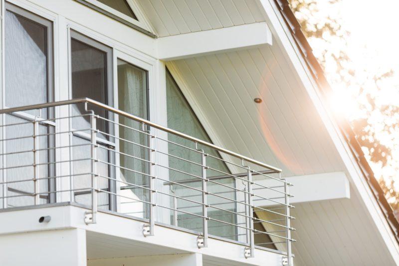 Modernes Fachwerkhaus Landhaus Fachwerk Holz Glas Weiss 3