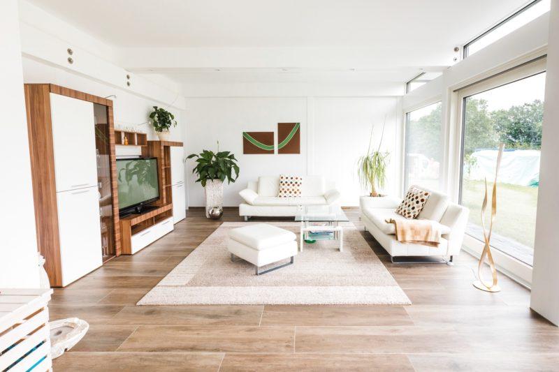 Modernes Fachwerkhaus Landhaus Hausbau Holzskelettbau Schwarz Weiss 13