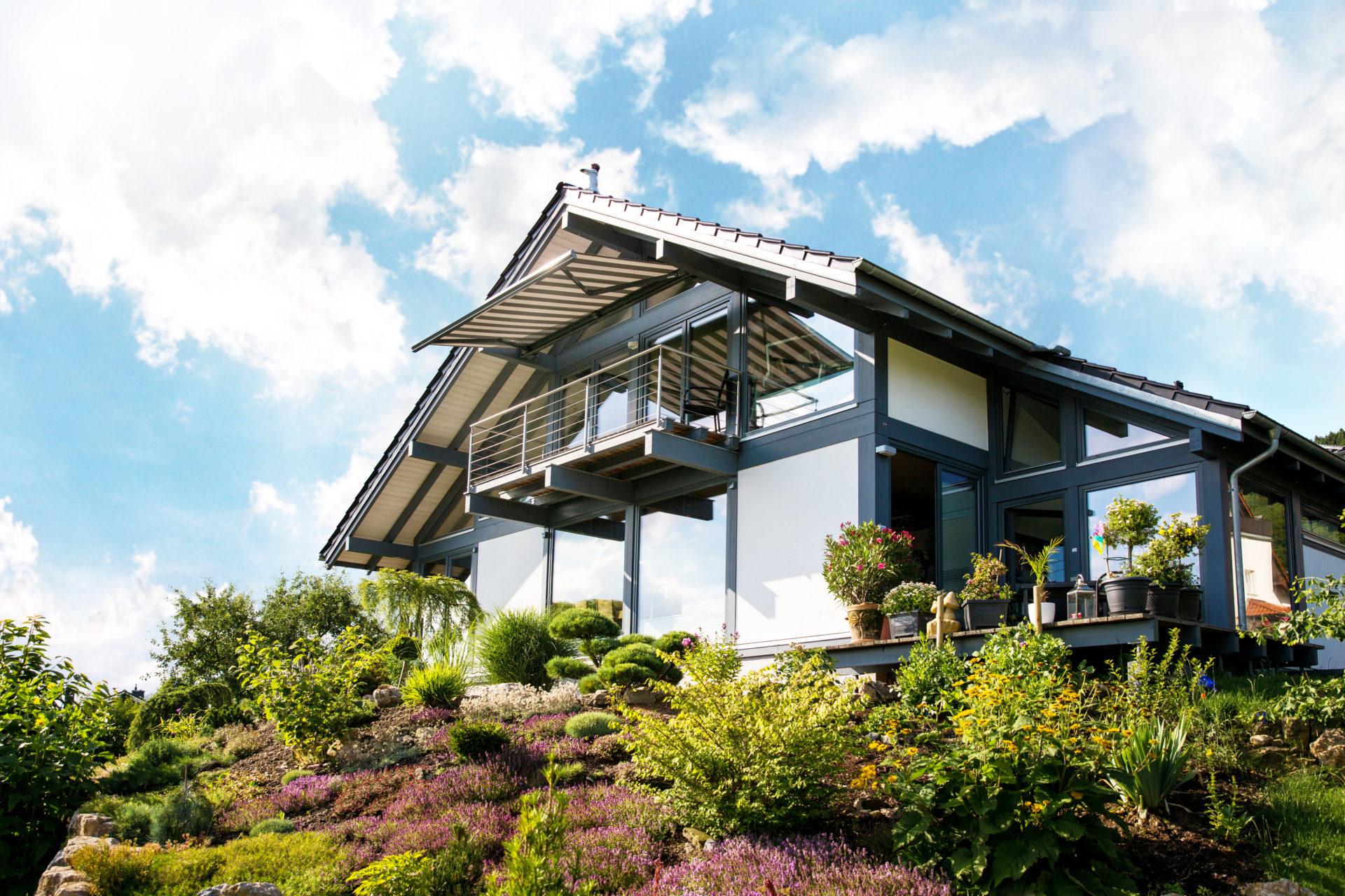 Modernes Fachwerkhaus Suhl Berlin Concentus Holzskelettbau