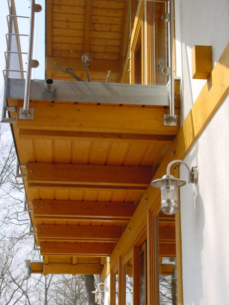 Modernes Landhaus Rotes Dach Fachwerk Concentus
