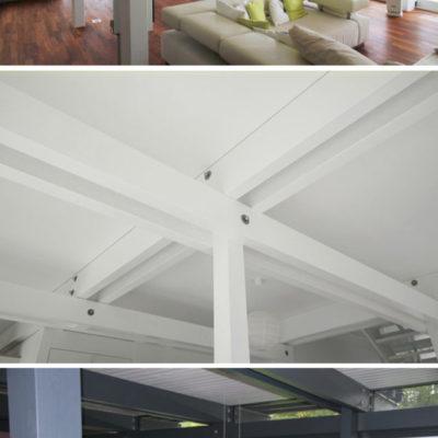 Visio Dachkonstruktion